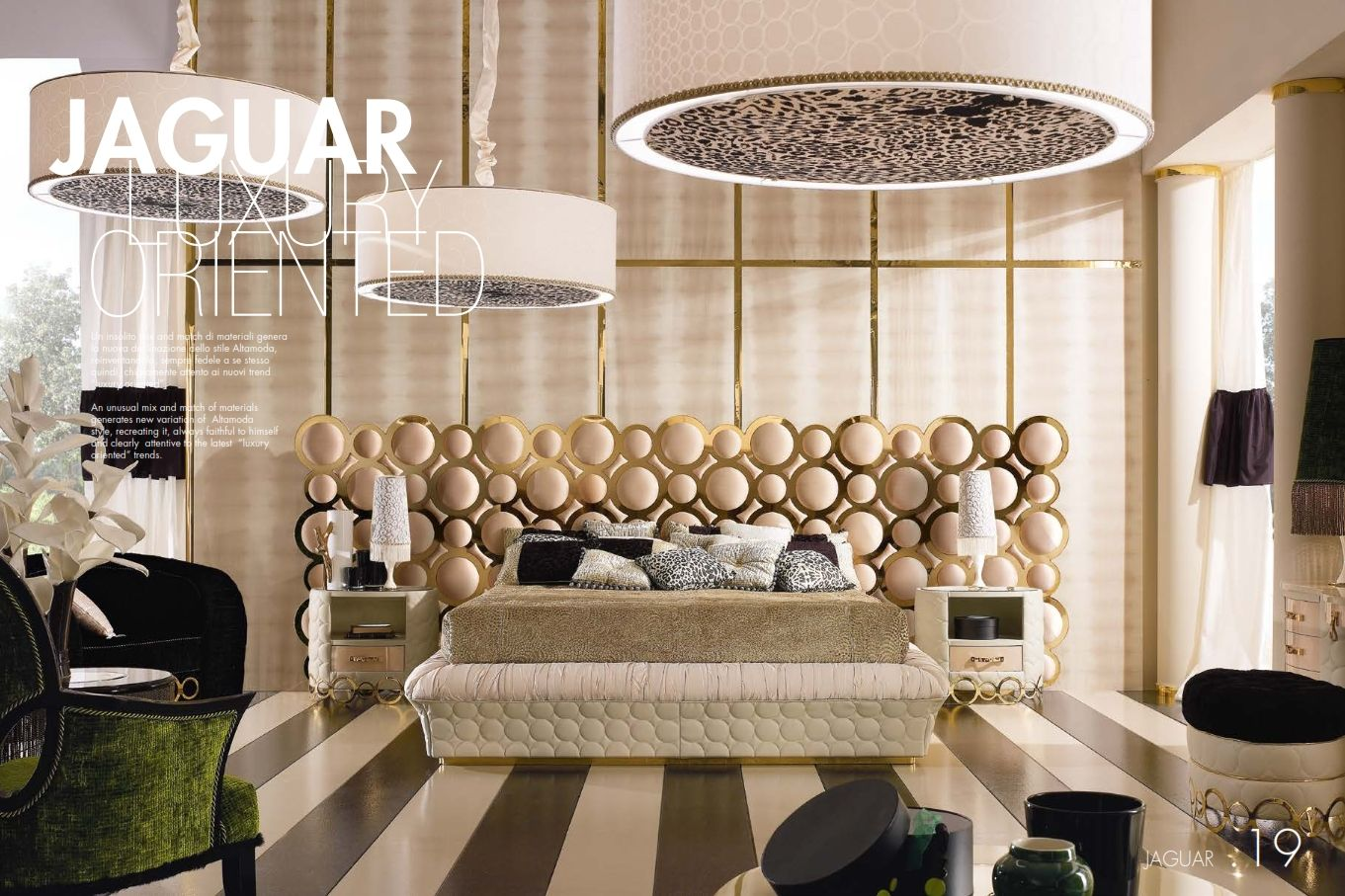 Luxurious Furniture Luxury Bedroom Alta Moda Jaguar