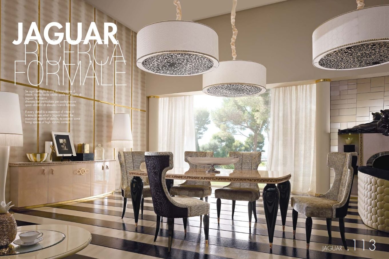 Luxurious Furniture Luxury Dining Room Alta Moda Jaguar