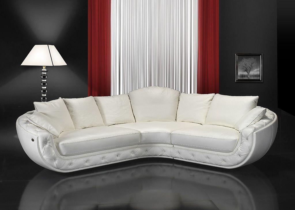 VIP-sofas - Nieri Divani Fitzgerald Sofa ModellDie Möbel aus Italien