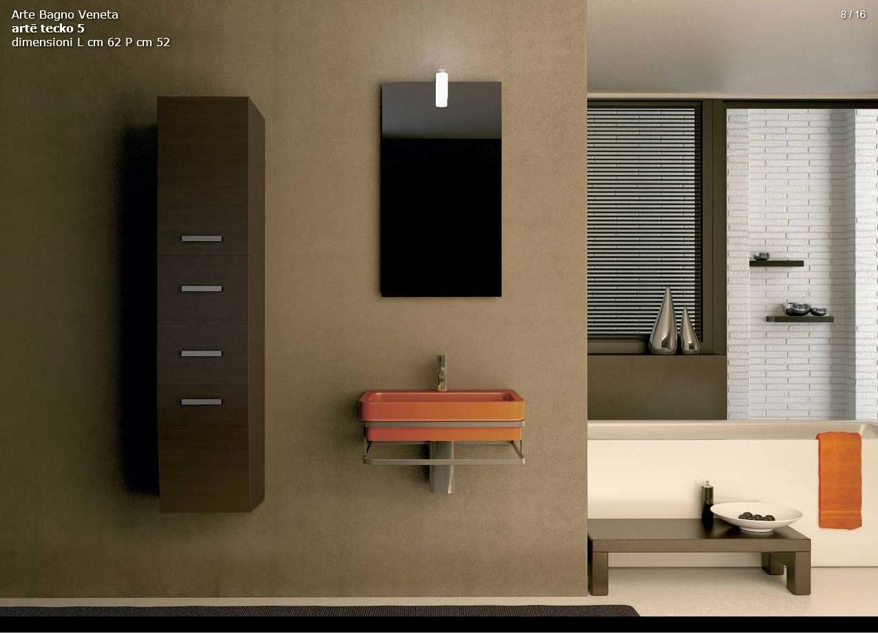 BATHROOM FURNITURE - Arte Bagno Series Arte Model Tecko 5Furniture ...