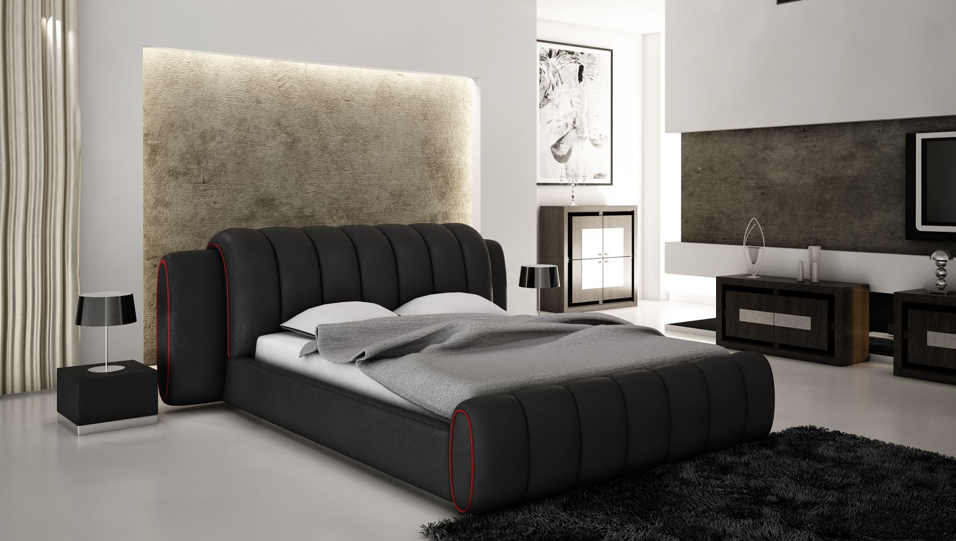 modele de chambre affordable inou modele chambre parentale couleur de peinture pour chambre. Black Bedroom Furniture Sets. Home Design Ideas