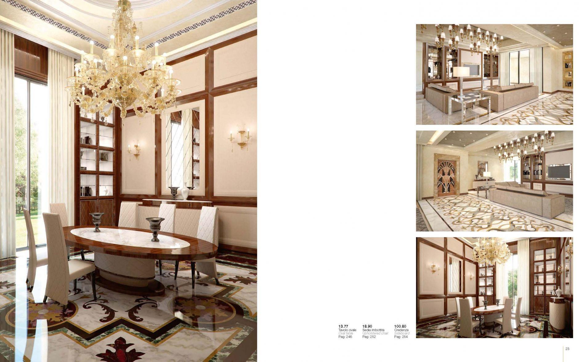 Credenza La Dolce Vita : Luxurious furniture dining room mino dolce vita seriesfurniture