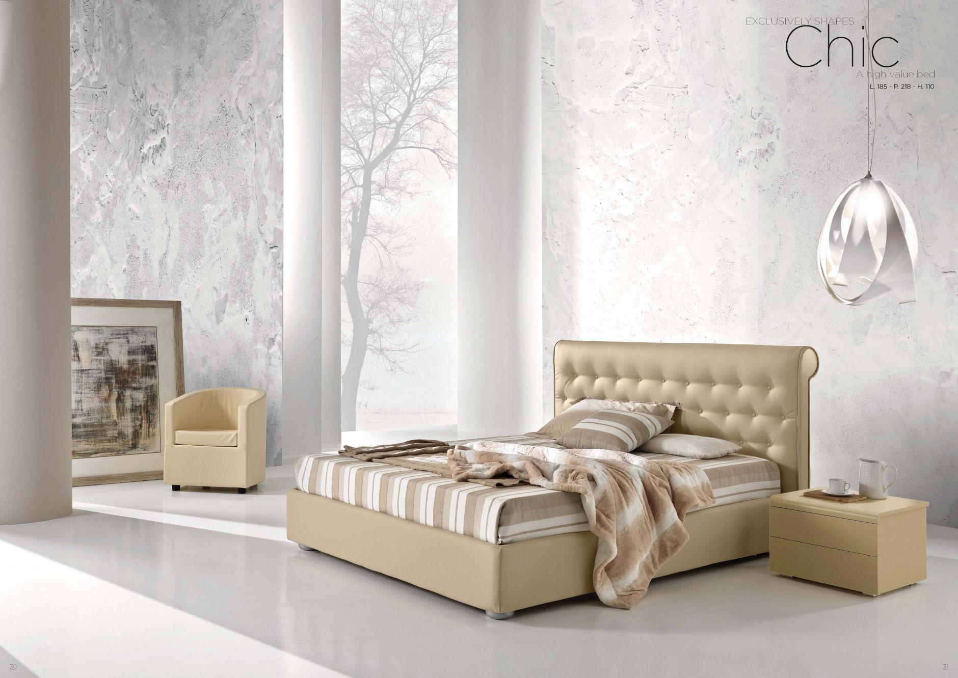 Chambre coucher en cuir s rie de chambre coucher Chambre a coucher classique chic