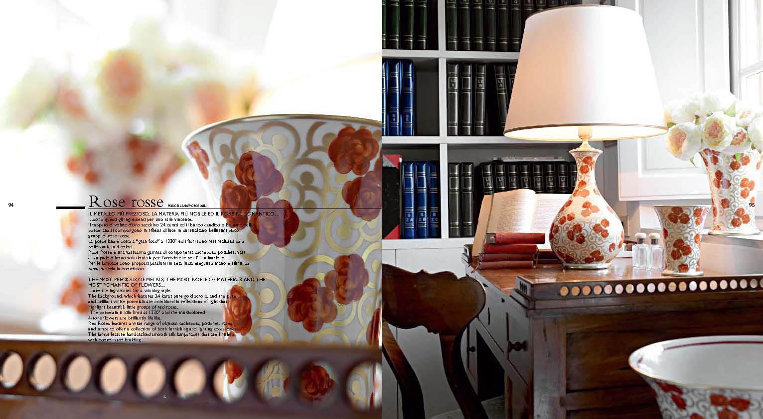 Dekorative Wohnzimmer Lampen - Dekorative Porzellan Lampen Serie ...