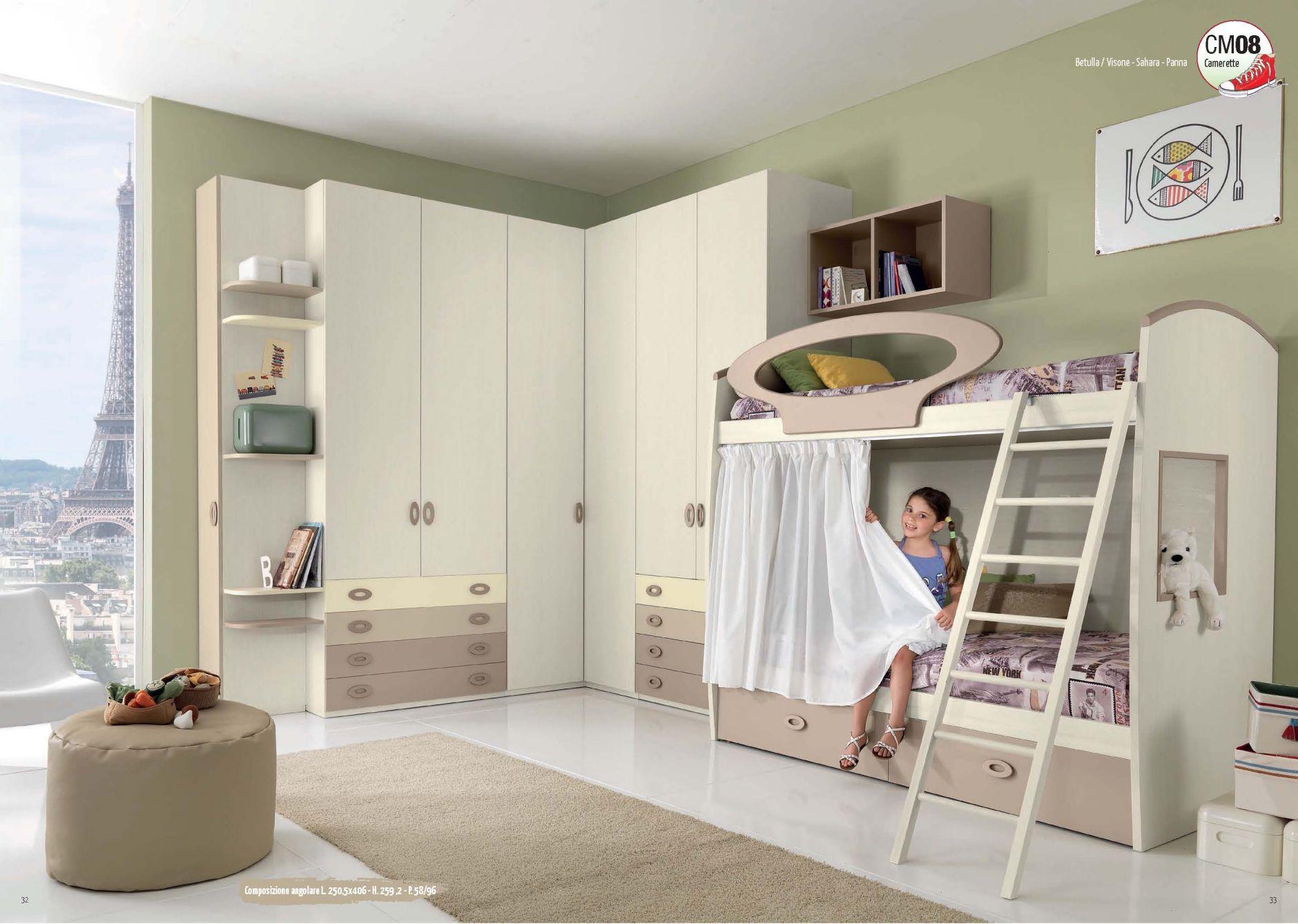 Muebles De Los Ni Os Muebles Giessegi Composici N Sm08  # Giessegi Muebles Infantil