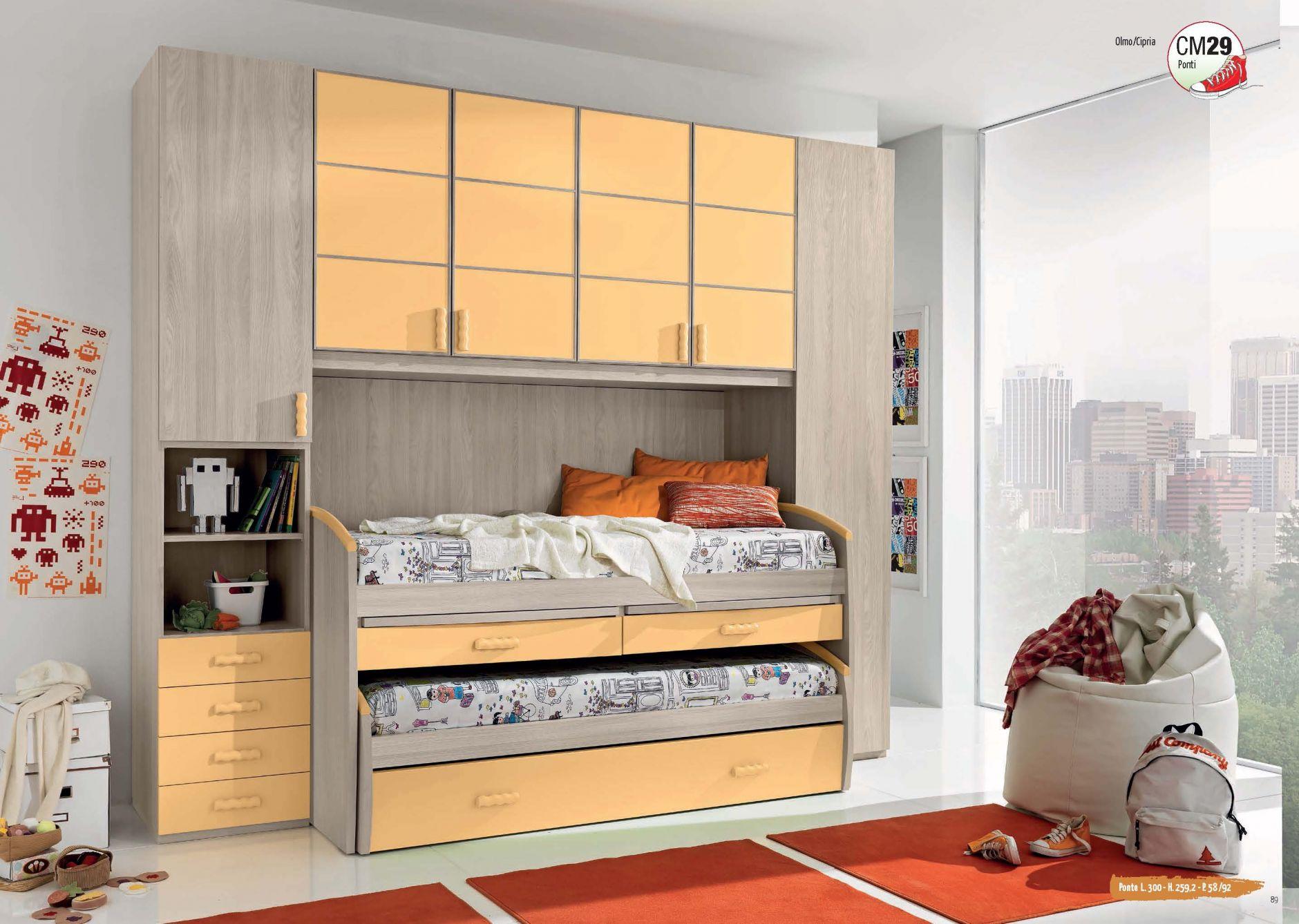 Muebles De Los Ni Os Muebles Giessegi Sm29 Composici N  # Giessegi Muebles Infantil