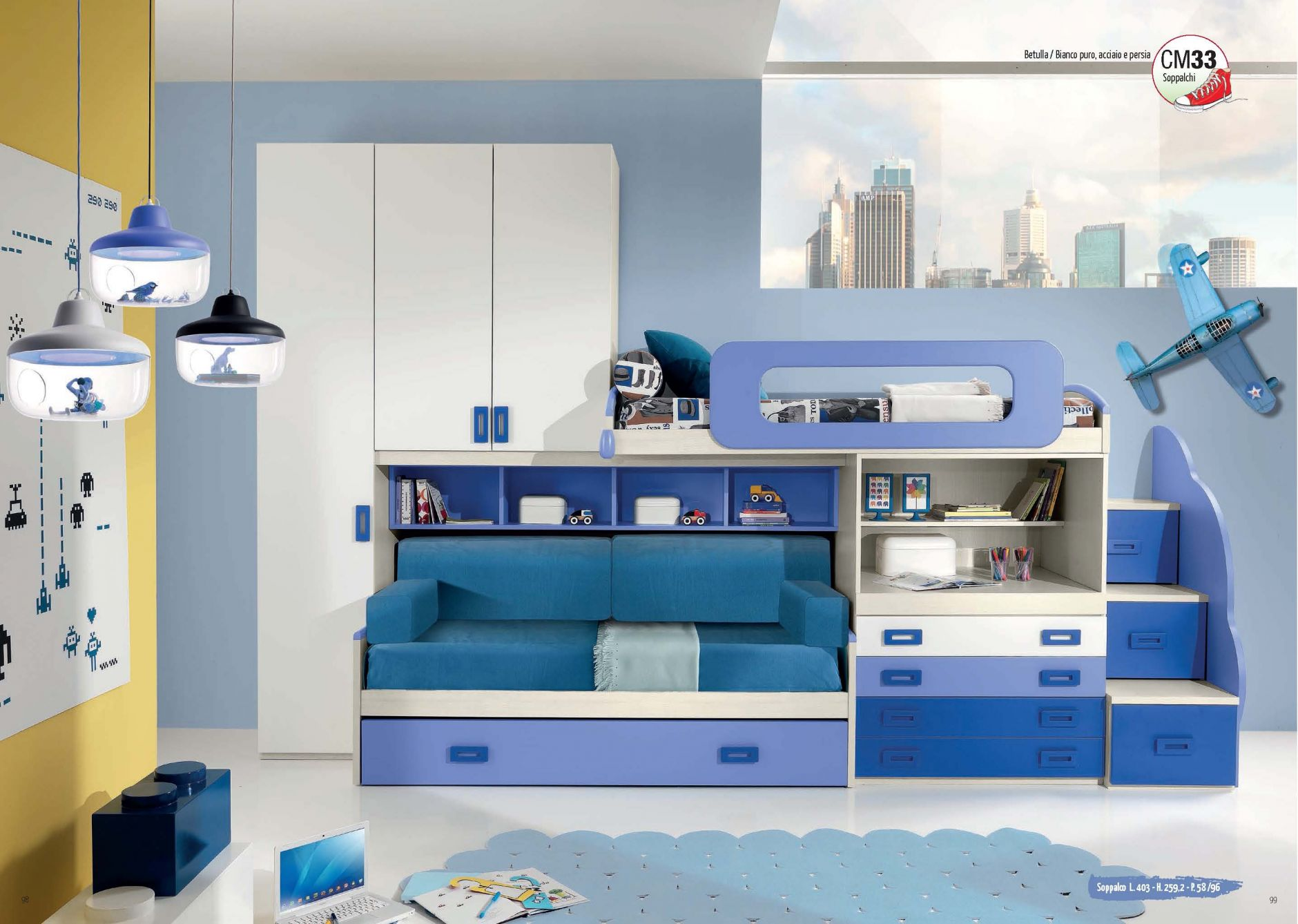 Muebles De Los Ni Os Muebles Giessegi Composici N Sm33  # Giessegi Muebles Infantil