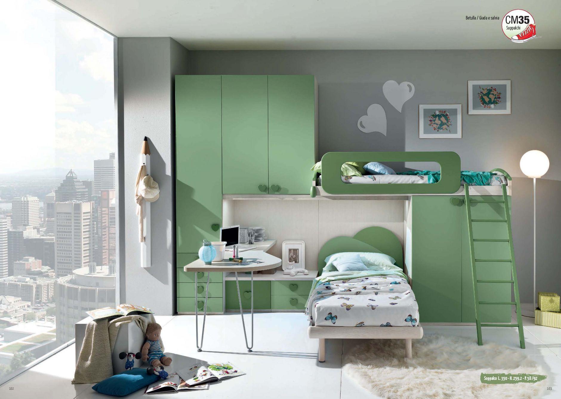 Muebles De Los Ni Os Muebles Giessegi Composici N Sm35  # Giessegi Muebles Infantil