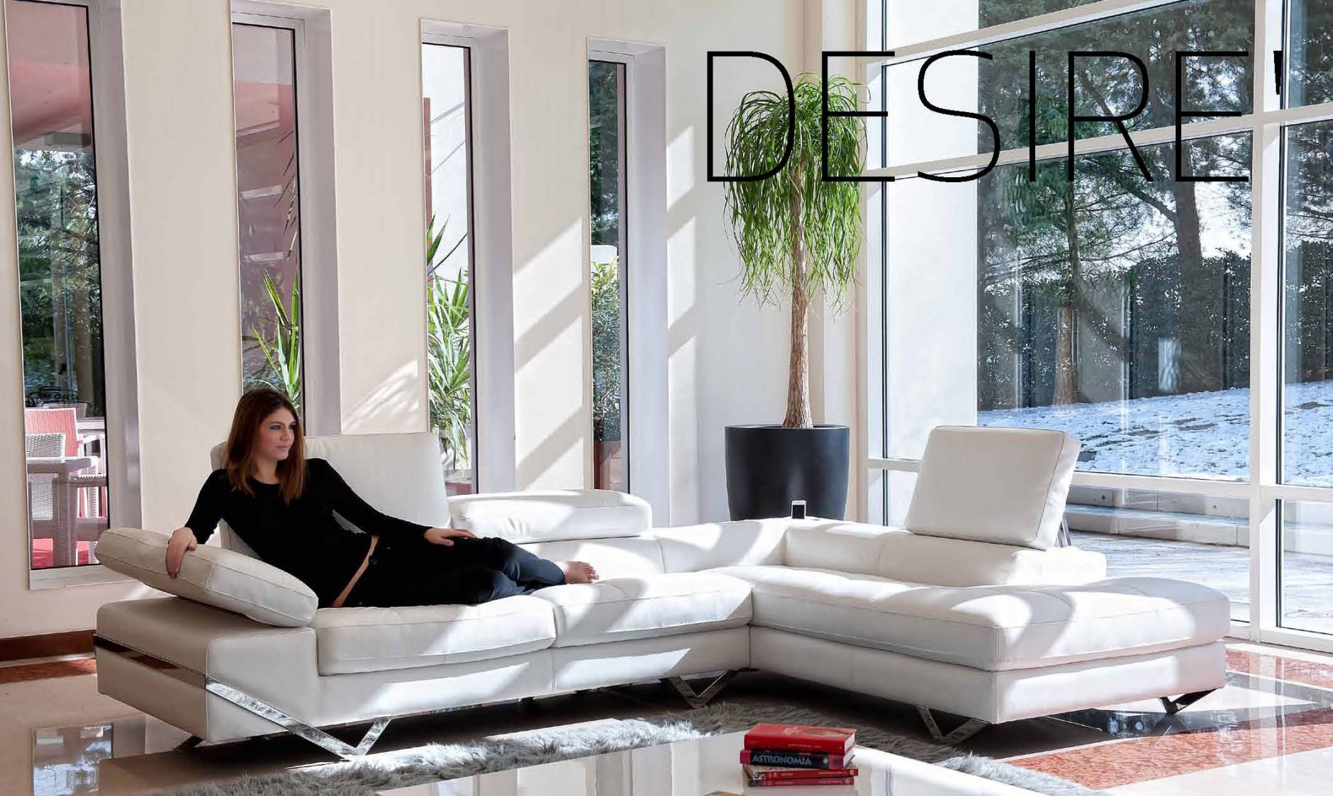 La Desire Salotti.Sectional Sofas Sectional Sofa Alpa Salotti Desire