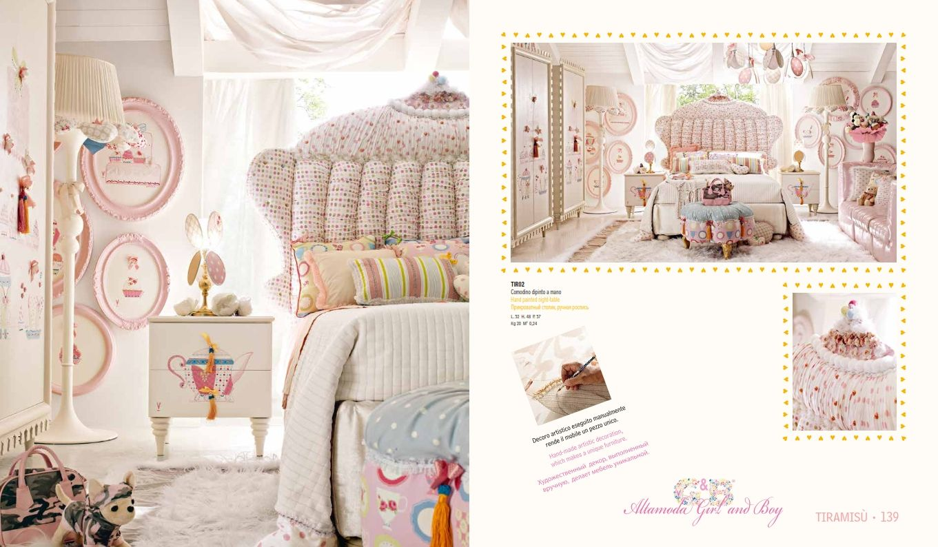 kinderm bel luxus kinderzimmer m belserie alta moda tiramisudie m bel aus italien. Black Bedroom Furniture Sets. Home Design Ideas
