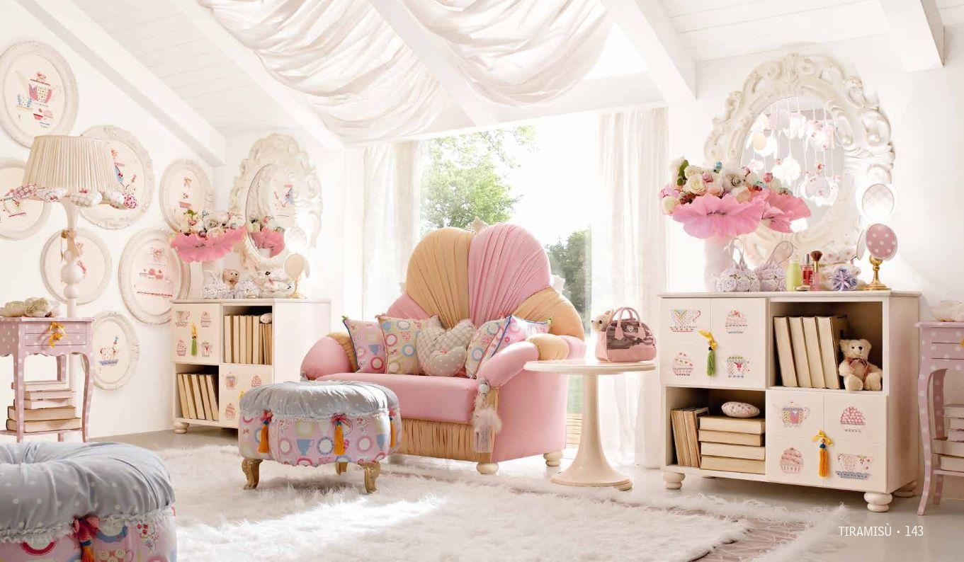 Kindermöbel - Luxus Kinderzimmer Möbelserie Alta Moda-TIRAMISUDie ...