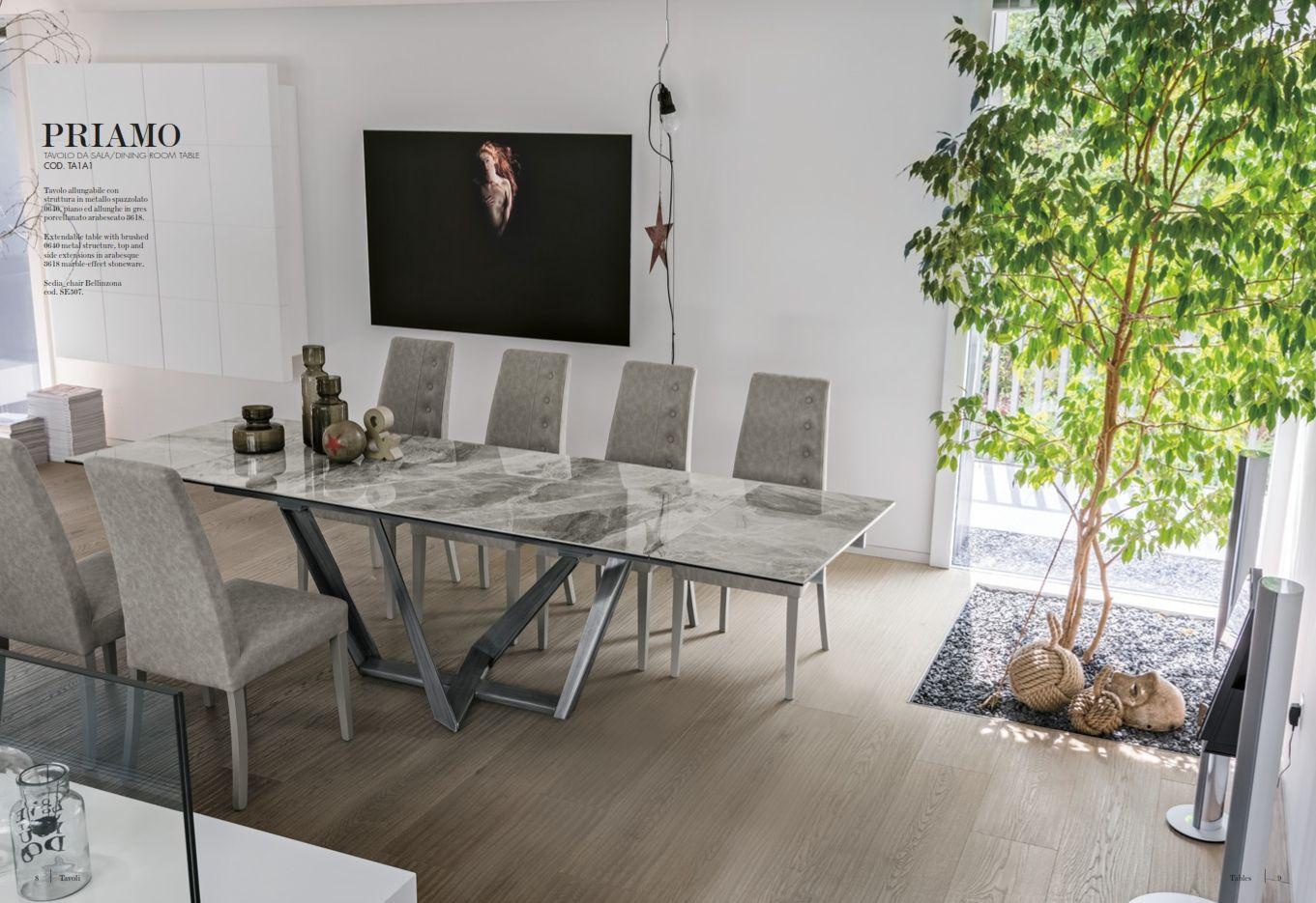 Esszimmerstühle - Esstisch Target Point Serie PriamoDie Möbel aus ...