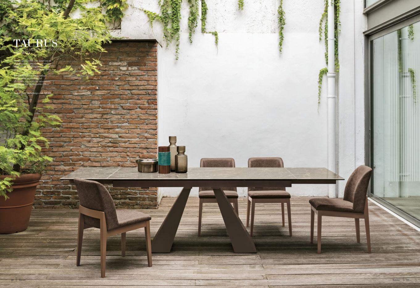 Esszimmerstühle - Esstisch Target Point Serie TaurusDie Möbel aus ...