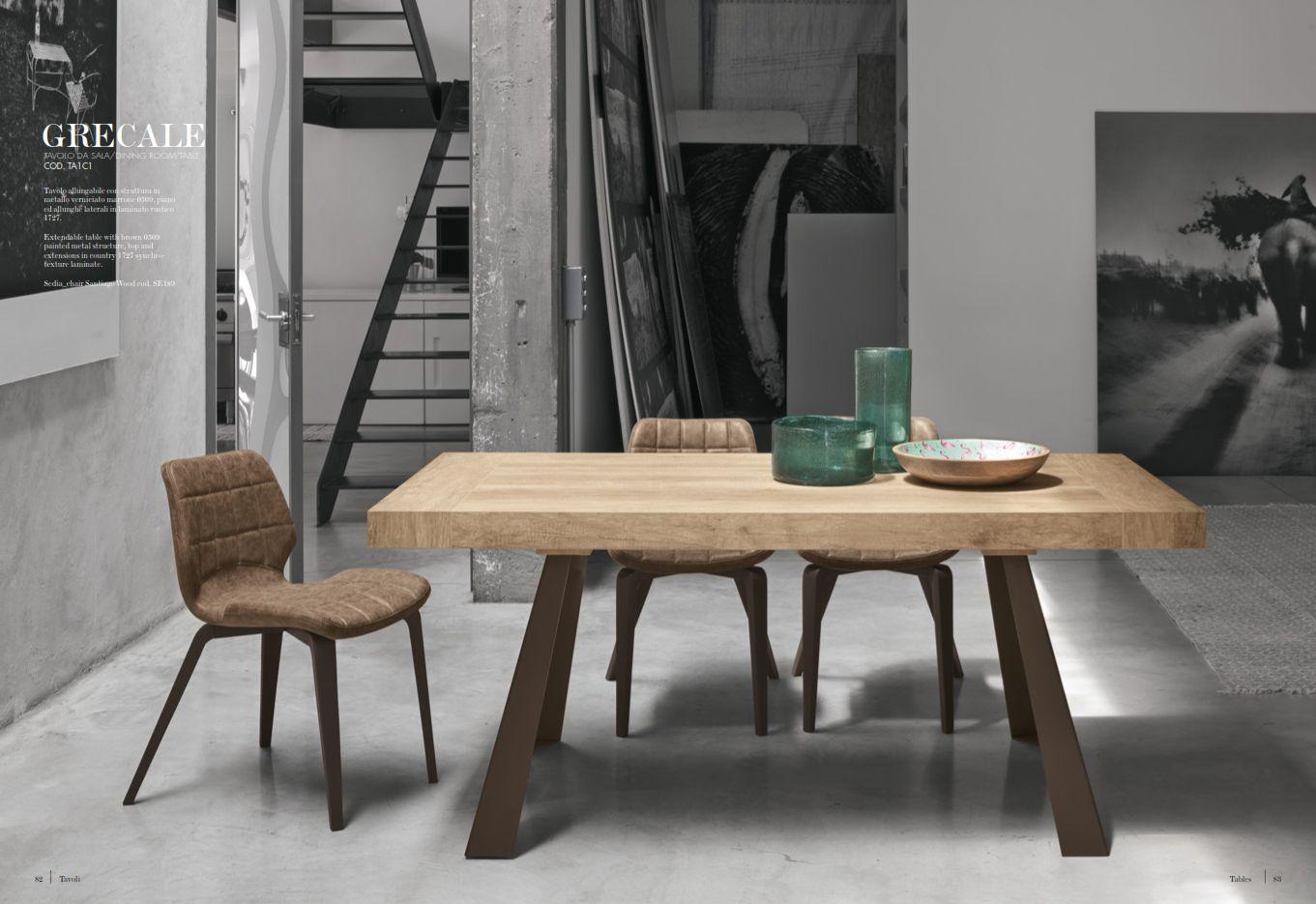 Esszimmerstühle - Esstisch Target Point Serie GrecaleDie Möbel aus ...