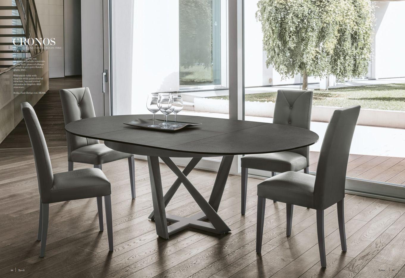 Esszimmerstühle - Esstisch Target Point Serie CronosDie Möbel aus ...