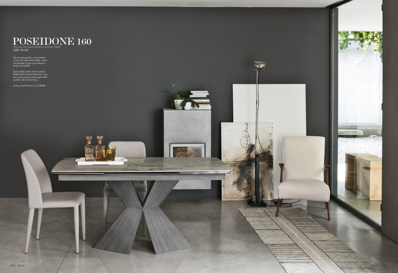 Esszimmerstühle - Esstisch Target Point Serie PoseidoneDie Möbel aus ...