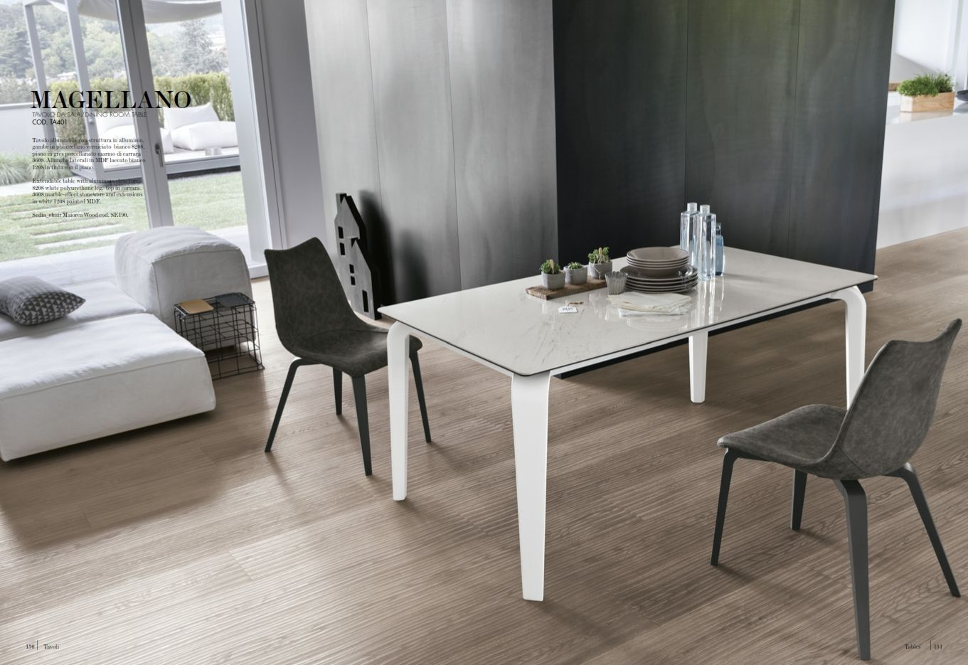 DINNING ROOMS AND CHAIRS - Dining Room Table Target Point Magellano ...