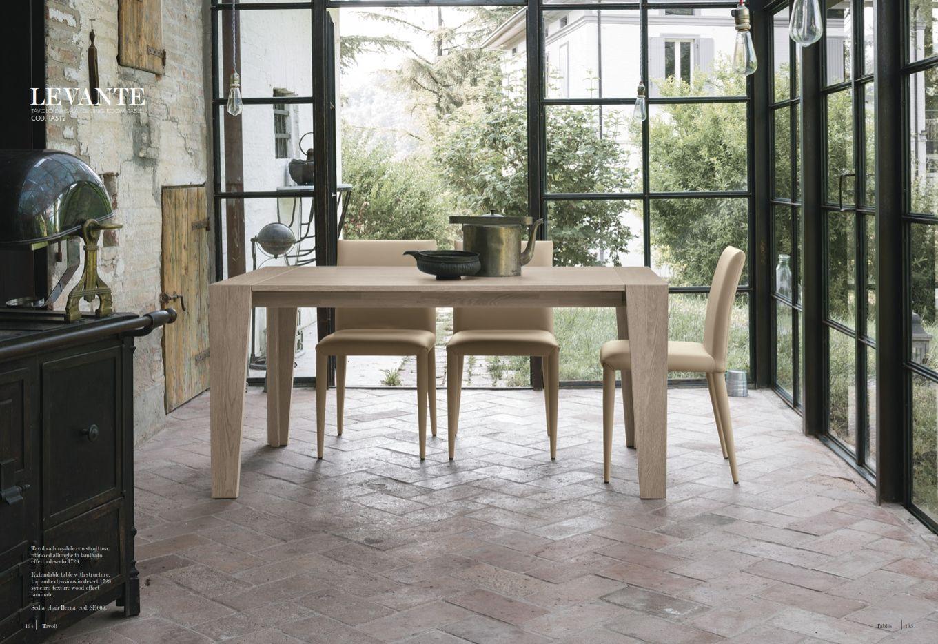 Esszimmerstühle - Esstisch Target Point Serie LevanteDie Möbel aus ...