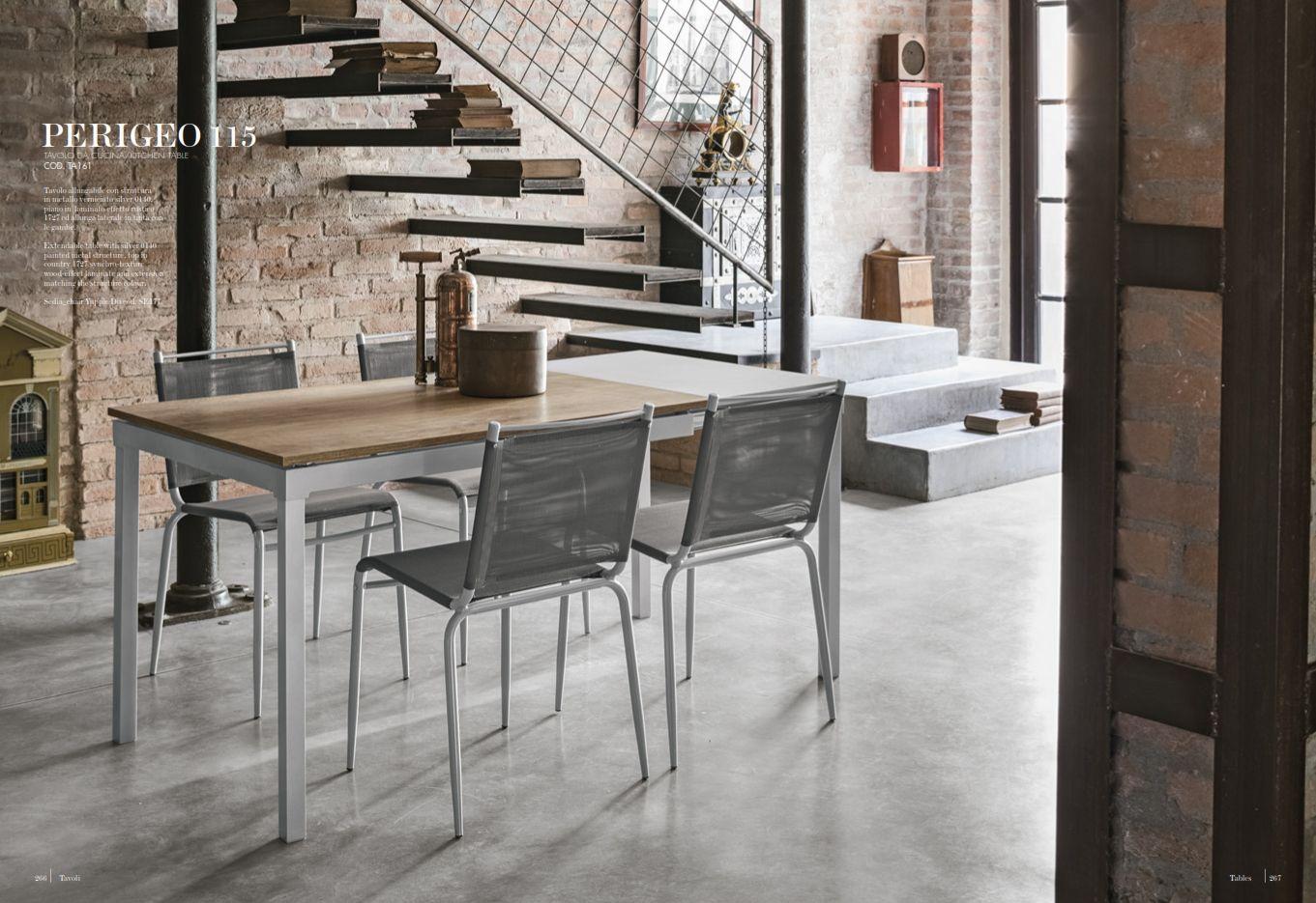 Esszimmerstühle - Esstisch Target Point Serie PerigeoDie Möbel aus ...