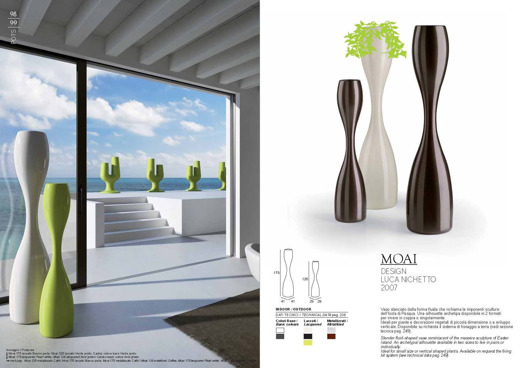 gartenm bel pot plust collection serie moaidie m bel aus italien. Black Bedroom Furniture Sets. Home Design Ideas