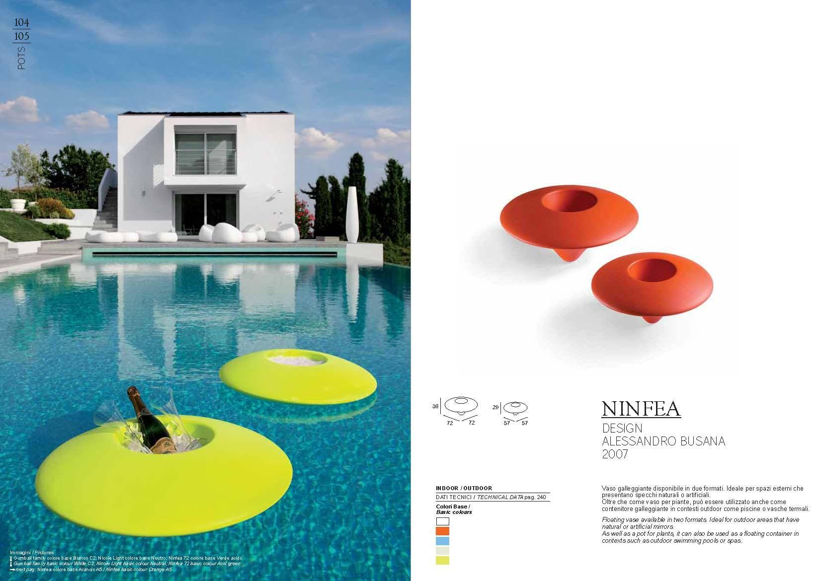 gartenm bel pot plust collection serie ninfeadie m bel aus italien. Black Bedroom Furniture Sets. Home Design Ideas