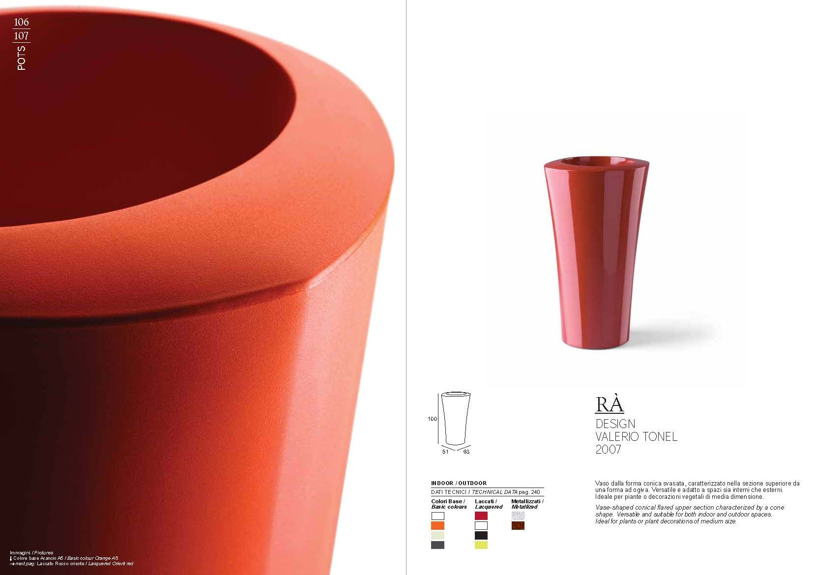 gartenm bel pot plust collection serie radie m bel aus italien. Black Bedroom Furniture Sets. Home Design Ideas