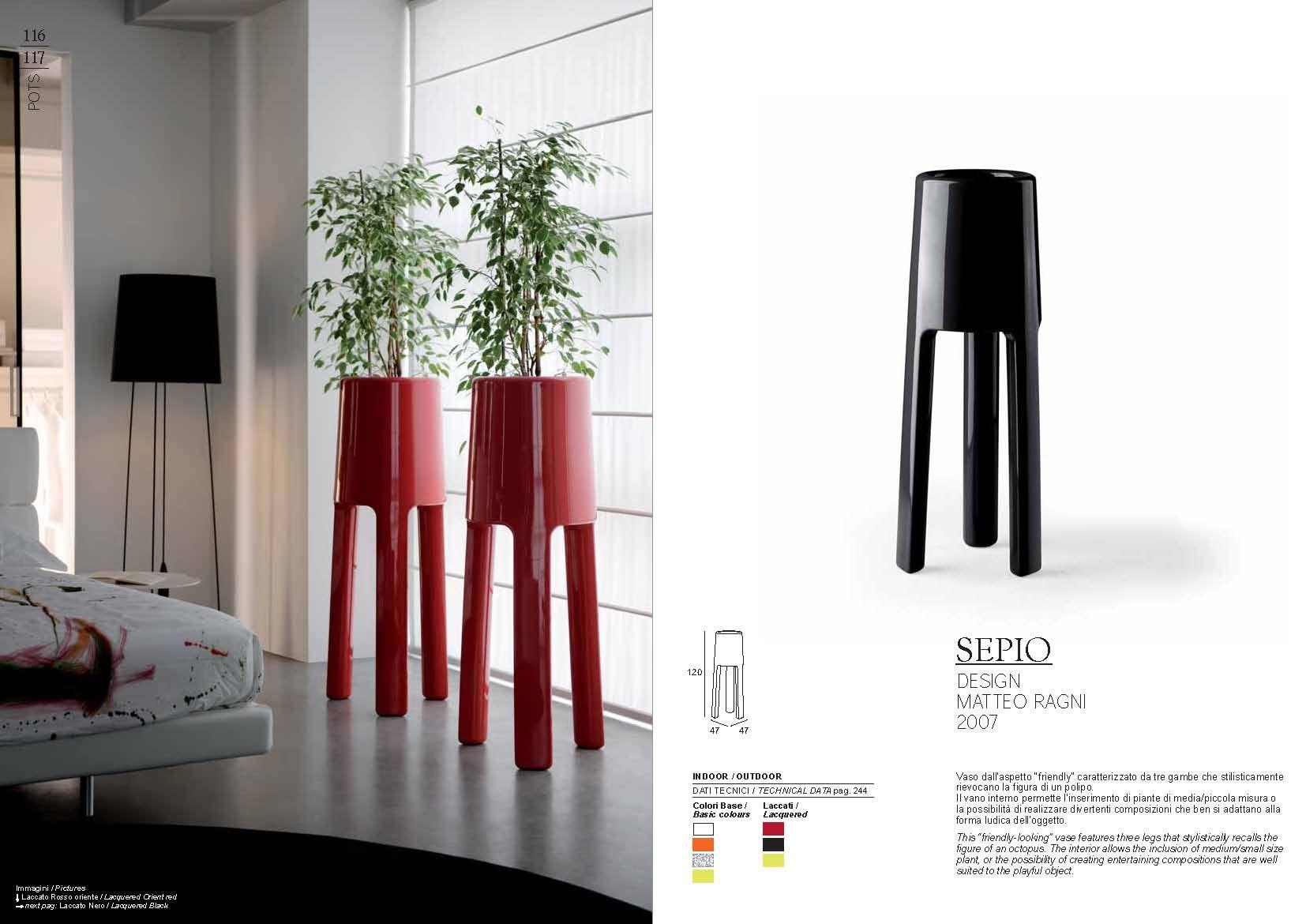 Gartenmöbel - Pot Plust Collection SEPIO SerieDie Möbel aus Italien