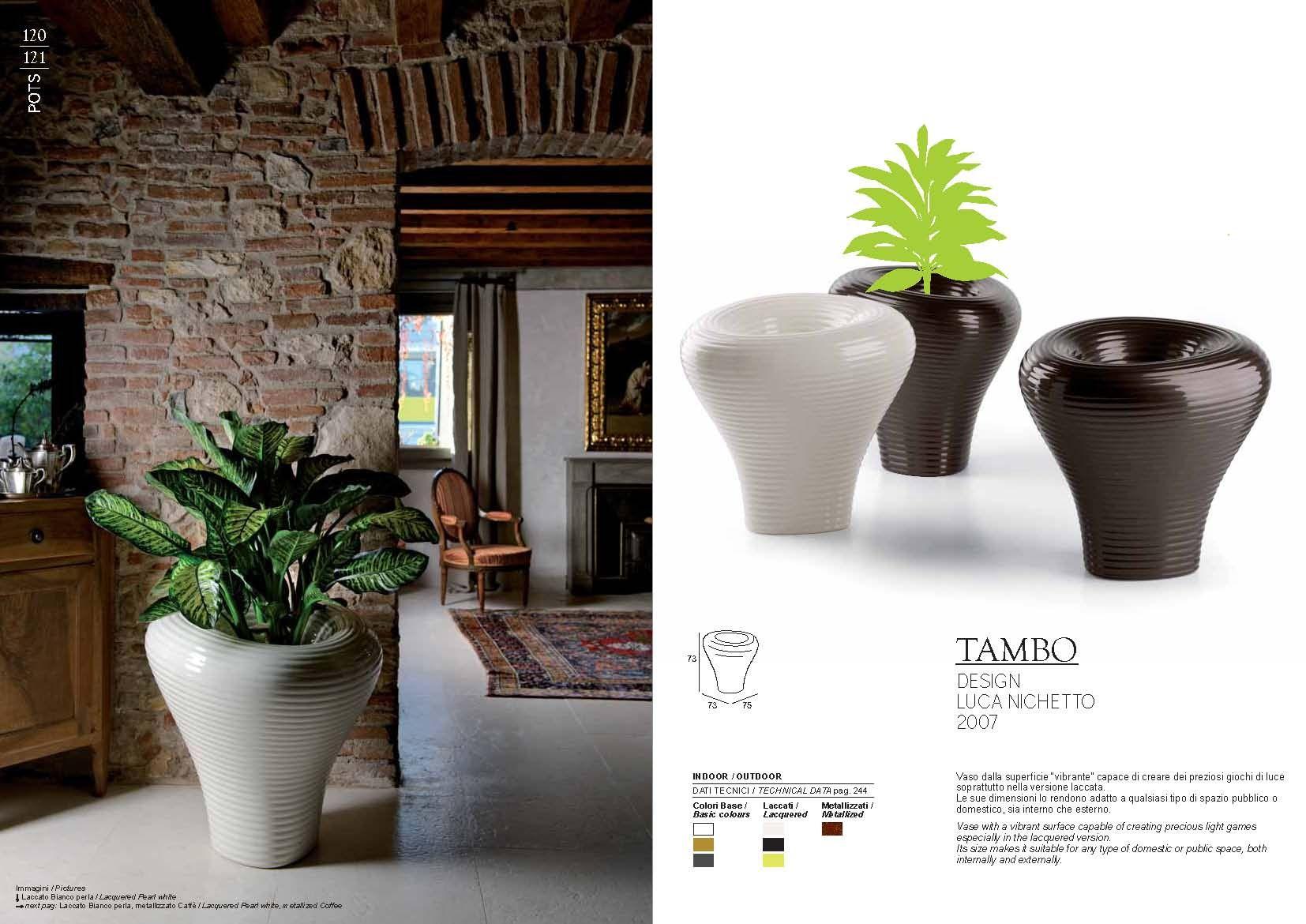 gartenm bel pot plust collection serie tambodie m bel aus italien. Black Bedroom Furniture Sets. Home Design Ideas