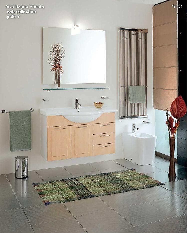 Badezimmer-Möbel - Arte Bagno-VAB-Polo-Baureihe 7Die Möbel aus Italien