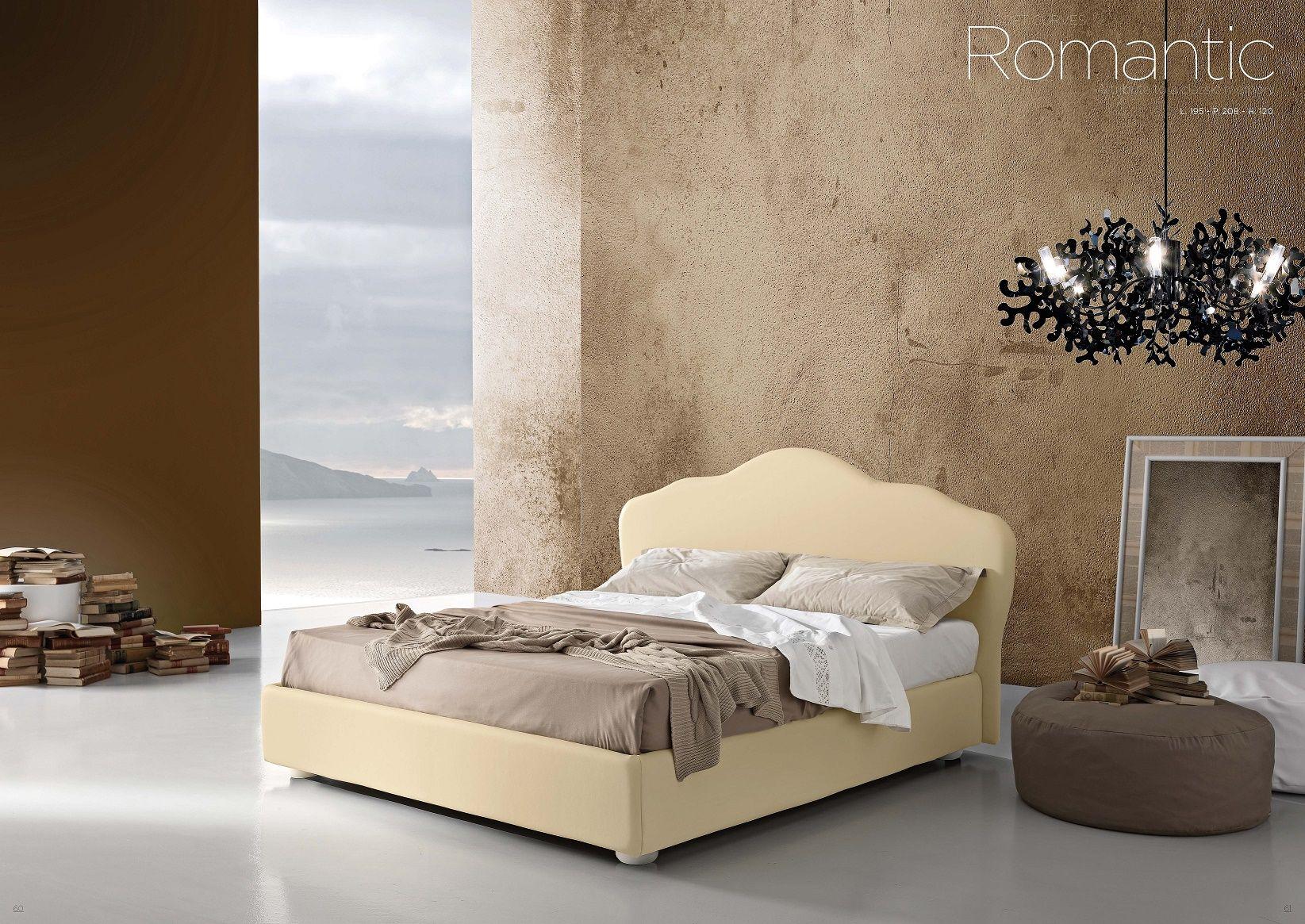 Chambre à coucher en cuir - Série de chambre à coucher ROMANTIQUE ...