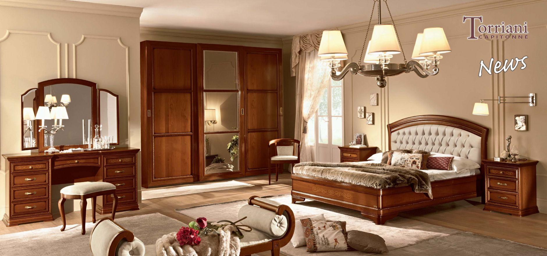 meubles classiques chambre coucher camelgroup mod le torriani capitonneles meubles de l 39 italie. Black Bedroom Furniture Sets. Home Design Ideas