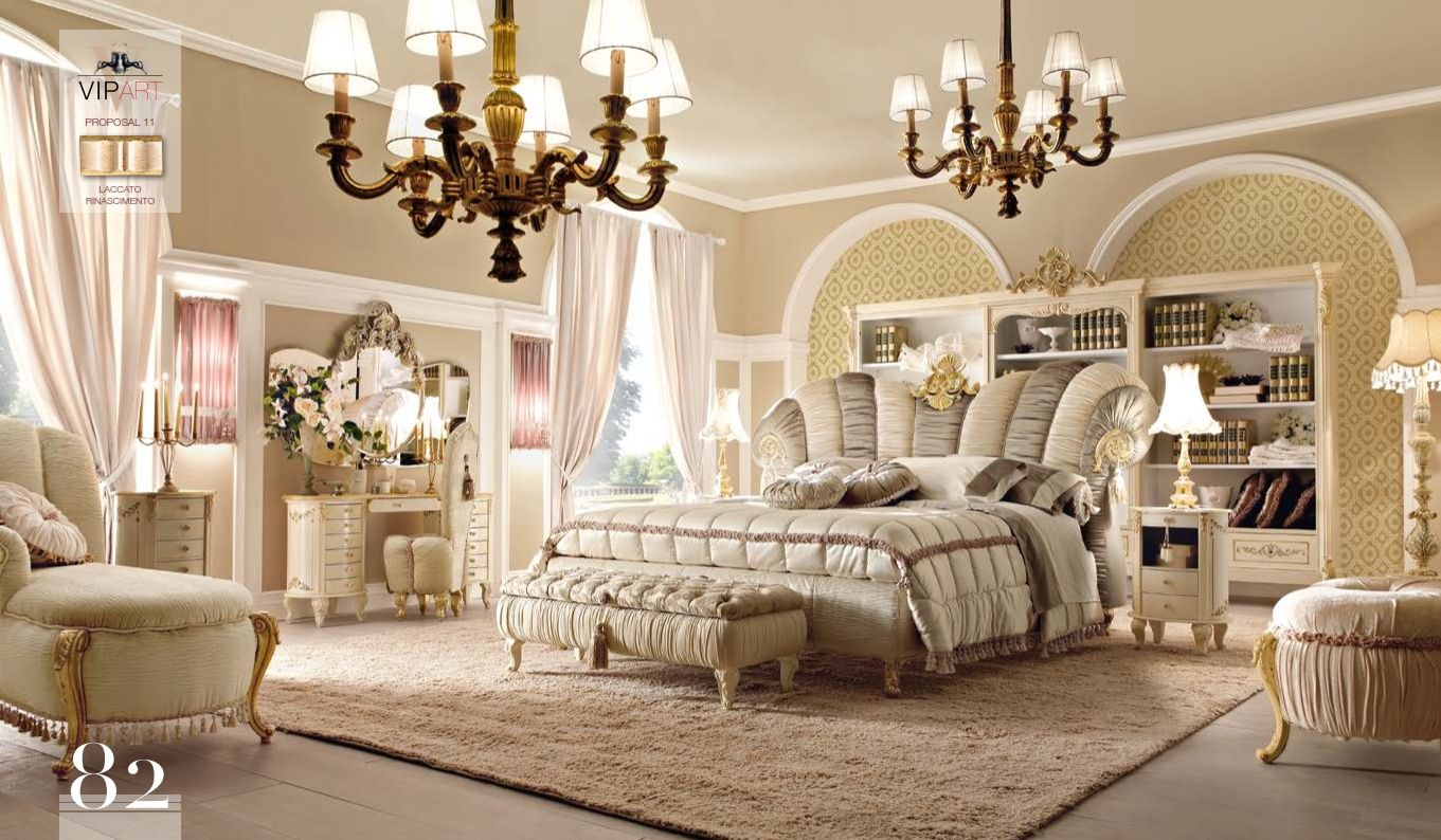 Luxurious Furniture Luxury Bedroom Alta Moda Vip Art 11
