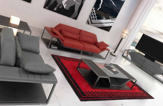 VIP-sofas - Luxus-Möbel-Serie LONG BEACH moderneDie Möbel aus Italien