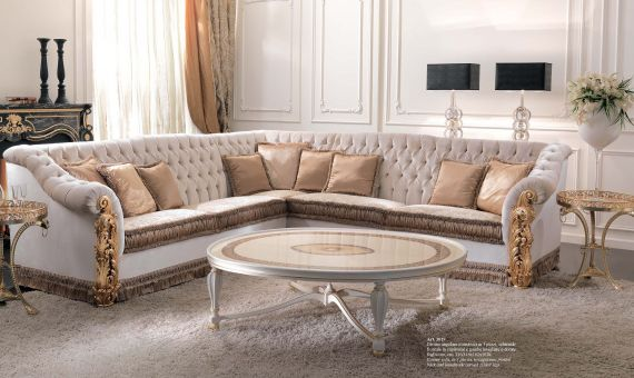 Luxury Sectional Sofa CEPPI STYLE