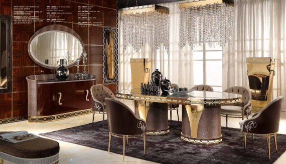 luxus esszimmer, luxus-möbel - luxus esszimmer serie cappelletti liliumdie möbel aus, Design ideen