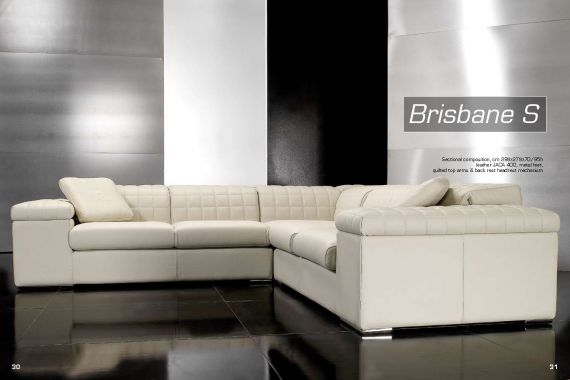 Sectional sofa BRISBANE S