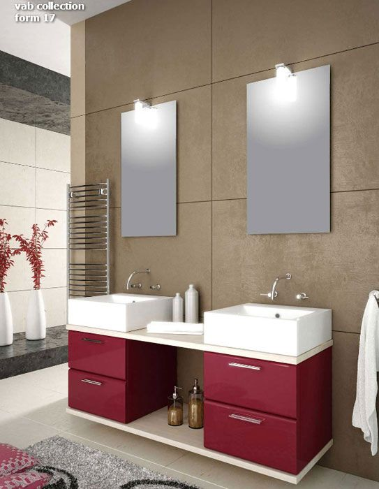BATHROOM FURNITURE - Arte Bagno Series VAB Model Form 17Furniture ...