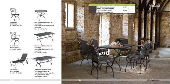 Garden Furniture MBM MEDICI Series
