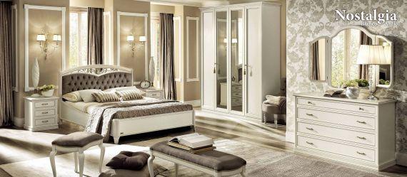 Klassische Möbel - Schlafzimmer Camelgroup BIANCO ANTICO Nostalgie ...
