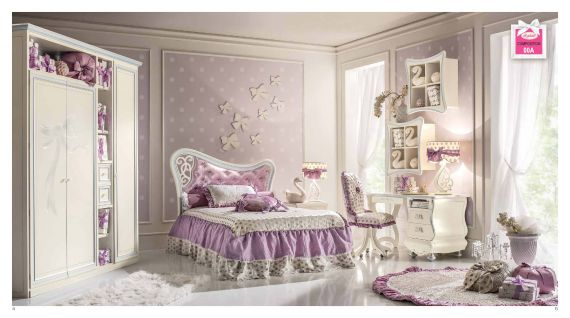 kinderm bel kinder schlafzimmer bacci serie sophie zusammensetzung unddie m bel aus italien. Black Bedroom Furniture Sets. Home Design Ideas