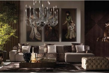 ROBERTO CAVALLI Furniture HAMPTIONS Series