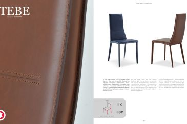 Leather Chair TEBE