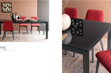 Dining Table Calligaris BARON GLASS Series