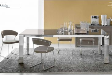 Dining Table Calligaris GATE GLASS Series