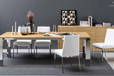 Dining Table Calligaris GATE WOOD Series