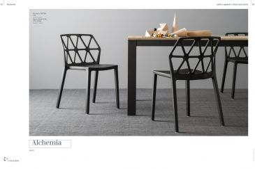 Dining Chair Calligaris ALCHEMIA Series