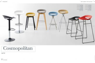Bar Stool Calligaris COSMOPOLITAN Series