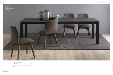 Dining Chair Calligaris HEXA Series