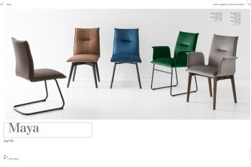 Dining Chair Calligaris MAYA Series