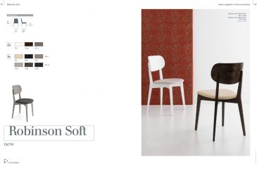 Dining Chair Calligaris ROBINSON SOFT Series